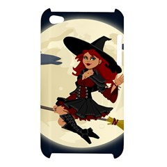 Witch Witchcraft Broomstick Broom Apple iPod Touch 4