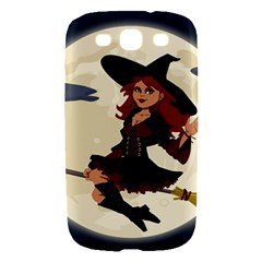 Witch Witchcraft Broomstick Broom Samsung Galaxy S III Hardshell Case