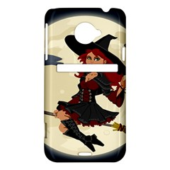 Witch Witchcraft Broomstick Broom HTC Evo 4G LTE Hardshell Case