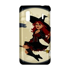 Witch Witchcraft Broomstick Broom HTC Evo Design 4G/ Hero S Hardshell Case
