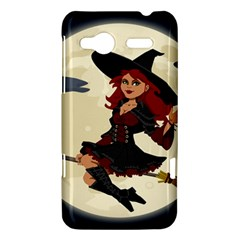 Witch Witchcraft Broomstick Broom HTC Radar Hardshell Case