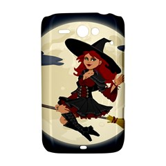 Witch Witchcraft Broomstick Broom HTC ChaCha / HTC Status Hardshell Case