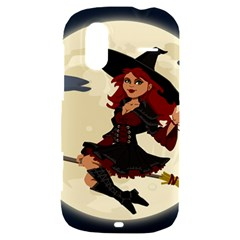 Witch Witchcraft Broomstick Broom HTC Amaze 4G Hardshell Case