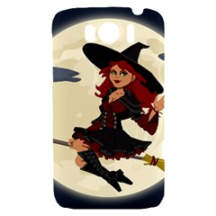 Witch Witchcraft Broomstick Broom HTC Sensation XL Hardshell Case
