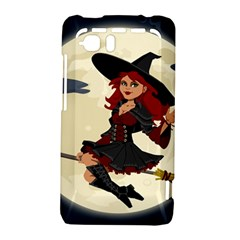 Witch Witchcraft Broomstick Broom HTC Vivid / Raider 4G Hardshell Case