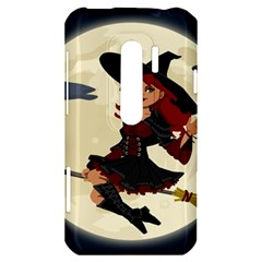 Witch Witchcraft Broomstick Broom HTC Evo 3D Hardshell Case