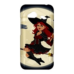 Witch Witchcraft Broomstick Broom HTC Droid Incredible 4G LTE Hardshell Case