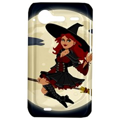 Witch Witchcraft Broomstick Broom HTC Incredible S Hardshell Case