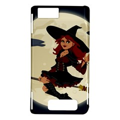 Witch Witchcraft Broomstick Broom Motorola DROID X2