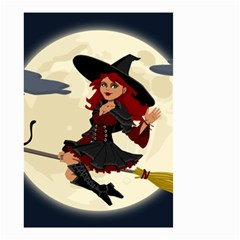 Witch Witchcraft Broomstick Broom Small Garden Flag (Two Sides)