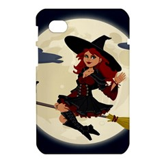 Witch Witchcraft Broomstick Broom Samsung Galaxy Tab 7  P1000 Hardshell Case