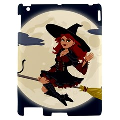Witch Witchcraft Broomstick Broom Apple iPad 2 Hardshell Case