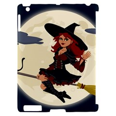 Witch Witchcraft Broomstick Broom Apple iPad 2 Hardshell Case (Compatible with Smart Cover)
