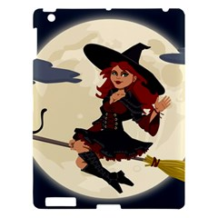 Witch Witchcraft Broomstick Broom Apple iPad 3/4 Hardshell Case