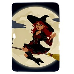 Witch Witchcraft Broomstick Broom Samsung Galaxy Tab 8.9  P7300 Hardshell Case