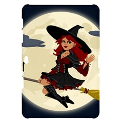 Witch Witchcraft Broomstick Broom Samsung Galaxy Tab 10.1  P7500 Hardshell Case
