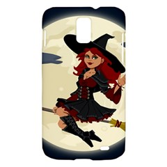 Witch Witchcraft Broomstick Broom Samsung Galaxy S II Skyrocket Hardshell Case
