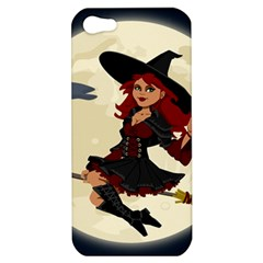 Witch Witchcraft Broomstick Broom Apple iPhone 5 Hardshell Case