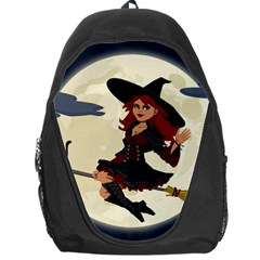 Witch Witchcraft Broomstick Broom Backpack Bag