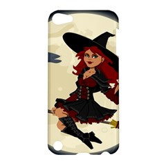 Witch Witchcraft Broomstick Broom Apple iPod Touch 5 Hardshell Case