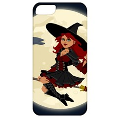 Witch Witchcraft Broomstick Broom Apple iPhone 5 Classic Hardshell Case