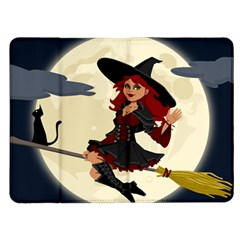 Witch Witchcraft Broomstick Broom Kindle Fire (1st Gen) Flip Case