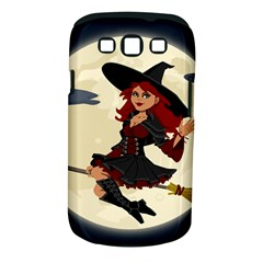 Witch Witchcraft Broomstick Broom Samsung Galaxy S III Classic Hardshell Case (PC+Silicone)