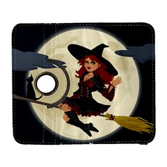 Witch Witchcraft Broomstick Broom Samsung Galaxy S  III Flip 360 Case