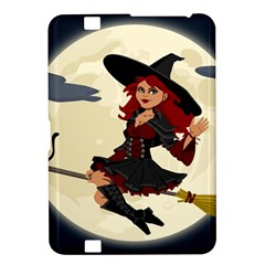 Witch Witchcraft Broomstick Broom Kindle Fire HD 8.9