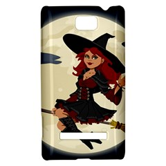 Witch Witchcraft Broomstick Broom HTC 8S Hardshell Case