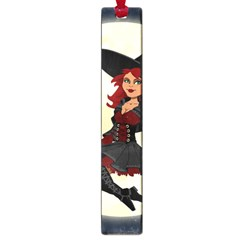 Witch Witchcraft Broomstick Broom Large Book Marks