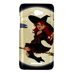 Witch Witchcraft Broomstick Broom HTC Butterfly X920E Hardshell Case