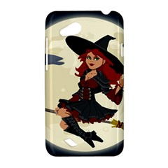 Witch Witchcraft Broomstick Broom HTC Desire VC (T328D) Hardshell Case