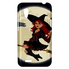 Witch Witchcraft Broomstick Broom HTC Desire VT (T328T) Hardshell Case