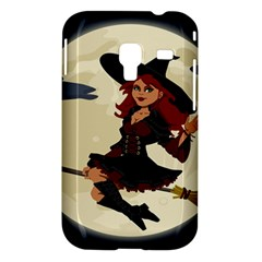 Witch Witchcraft Broomstick Broom Samsung Galaxy Ace Plus S7500 Hardshell Case