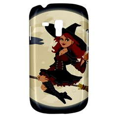 Witch Witchcraft Broomstick Broom Samsung Galaxy S3 MINI I8190 Hardshell Case