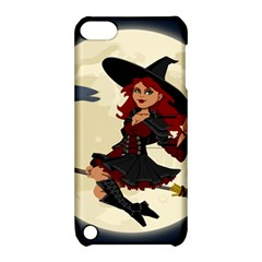 Witch Witchcraft Broomstick Broom Apple iPod Touch 5 Hardshell Case with Stand