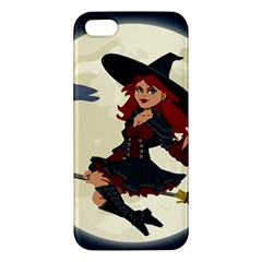 Witch Witchcraft Broomstick Broom Apple iPhone 5 Premium Hardshell Case