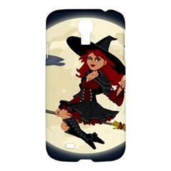 Witch Witchcraft Broomstick Broom Samsung Galaxy S4 I9500/I9505 Hardshell Case