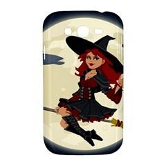 Witch Witchcraft Broomstick Broom Samsung Galaxy Grand DUOS I9082 Hardshell Case