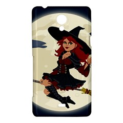Witch Witchcraft Broomstick Broom Sony Xperia T