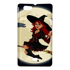 Witch Witchcraft Broomstick Broom Sony Xperia Miro