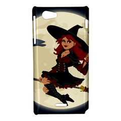 Witch Witchcraft Broomstick Broom Sony Xperia J