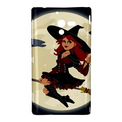 Witch Witchcraft Broomstick Broom Sony Xperia ZL (L35H)