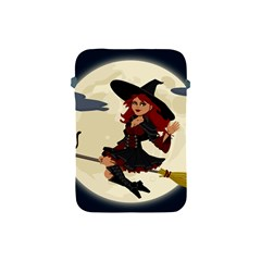 Witch Witchcraft Broomstick Broom Apple iPad Mini Protective Soft Cases