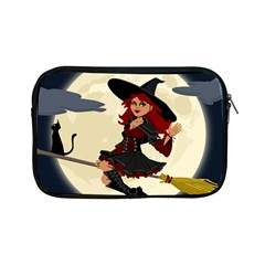 Witch Witchcraft Broomstick Broom Apple iPad Mini Zipper Cases