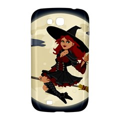 Witch Witchcraft Broomstick Broom Samsung Galaxy Grand GT-I9128 Hardshell Case