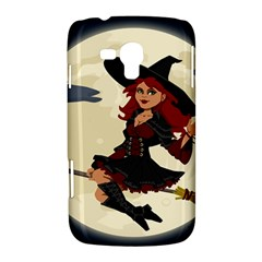 Witch Witchcraft Broomstick Broom Samsung Galaxy Duos I8262 Hardshell Case
