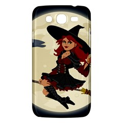 Witch Witchcraft Broomstick Broom Samsung Galaxy Mega 5.8 I9152 Hardshell Case
