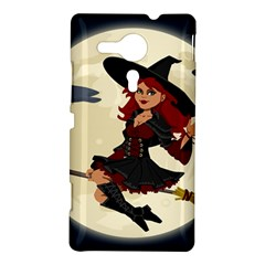 Witch Witchcraft Broomstick Broom Sony Xperia SP